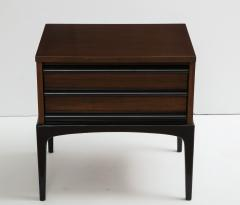 Mid Century Modern Walnut Night Stands - 1241245