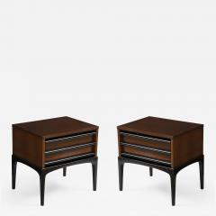 Mid Century Modern Walnut Night Stands - 1243880