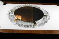 Mid Century Modetn Sunburst Crystal Mirror by Kalmar Austria 1960s - 2055316