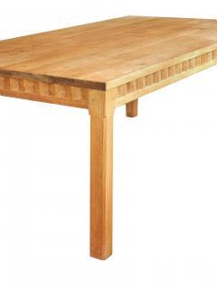 Mid Century Pine Dining Table - 721185