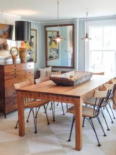 Mid Century Pine Dining Table - 721188