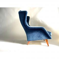 Mid Century Scandinavian Lounge Chair - 1703924