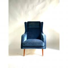 Mid Century Scandinavian Lounge Chair - 1703925