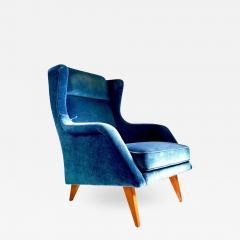 Mid Century Scandinavian Lounge Chair - 1705545
