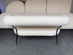 Mid Century Sofa in Boucl Fabric by IPA Bologne Italy 1950s - 2003639