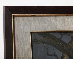 Mid Century Soothing Reflective Buddha Painting - 1803634