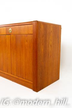 Mid Century Teak and Brass Sideboard Buffet Credenza - 1869044