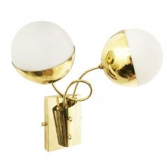 Mid Century Wall Lights with Two Globes - 1474421