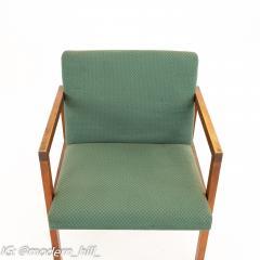 Mid Century Walnut Armchairs Set of 4 - 1869819