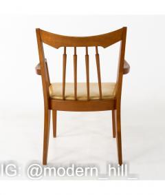 Mid Century Walnut Dining Chairs Set of 6 - 1810363