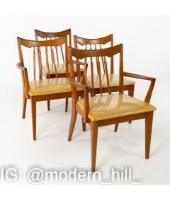 Mid Century Walnut Dining Chairs Set of 6 - 1810365