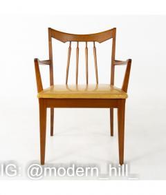 Mid Century Walnut Dining Chairs Set of 6 - 1810394