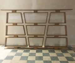 Mid Century Wood Room Divider Shelves - 1063921