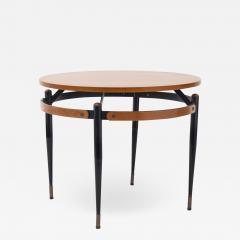 Mid Century round cocktail table  - 1845697
