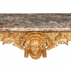 Mid Victorian Giltwood Console Table - 1795212