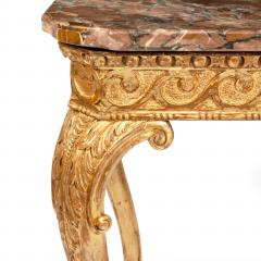 Mid Victorian Giltwood Console Table - 1795216