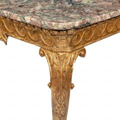 Mid Victorian Giltwood Console Table - 1795225