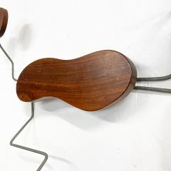 Mid century Modern Organic Wall Sculpture Catch All Hat Coat Rack - 1951261