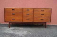 Mid century Nine Drawer Teak Dresser - 1734843