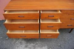 Mid century Nine Drawer Teak Dresser - 1734848
