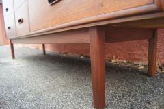 Mid century Nine Drawer Teak Dresser - 1734851