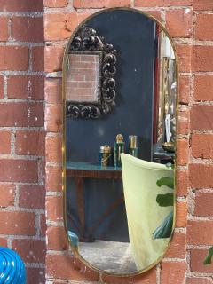 Mid century modern Wall Mirror Italy 1970s - 2099973