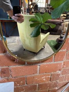 Mid century modern Wall Mirror Italy 1970s - 2099976