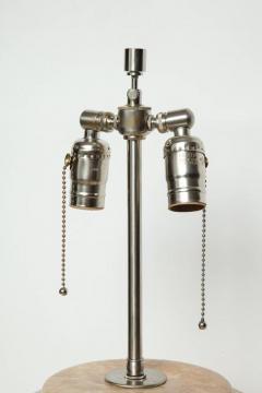 MidCentury Tan Drip Glazed Ceramic Lamps - 1956302