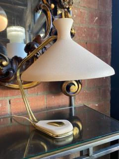 Midcentury Brass Table Lamp Italy 1960s - 1166929