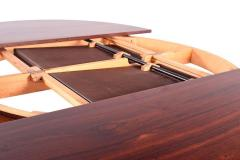 Midcentury Danish Rosewood Dining Table with Two Hidden Leaves - 1611237