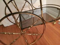 Midcentury Italian Brass Bar Cart - 1738029