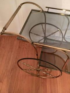 Midcentury Italian Brass Bar Cart - 1738030