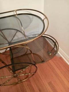 Midcentury Italian Brass Bar Cart - 1738033