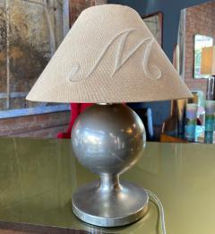 Midcentury Italian Chrome Table Lamp 1950s - 1169227