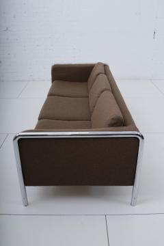 Midcentury Modern Sofa onTubular Chrome 1970 s - 1795816