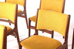 Midcentury Set of Six Teak Dining Chairs Denmark - 1610929