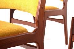 Midcentury Set of Six Teak Dining Chairs Denmark - 1610937