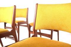 Midcentury Set of Six Teak Dining Chairs Denmark - 1610938