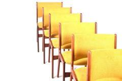 Midcentury Set of Six Teak Dining Chairs Denmark - 1610945