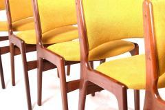 Midcentury Set of Six Teak Dining Chairs Denmark - 1610947