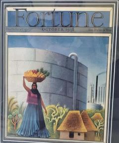 Miguel Covarrubias Art Deco Fortune Magazine Cover October 1938 - 1723280