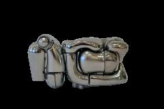 Miguel Ortiz Berrocal Miguel Berrocal Mini Maria Puzzle Sculpture - 1094846
