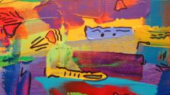 Mike Adamo Painting Stories In Color  - 2125062