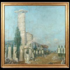 Mikhail Dmitrievich Todorov Large Oil On Canvas by Ukranian Artist Mikhail Dmitrievich Todorov - 2061637