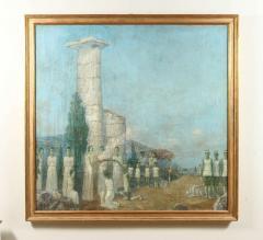 Mikhail Dmitrievich Todorov Large Oil On Canvas by Ukranian Artist Mikhail Dmitrievich Todorov - 2061638