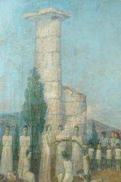 Mikhail Dmitrievich Todorov Large Oil On Canvas by Ukranian Artist Mikhail Dmitrievich Todorov - 2061639