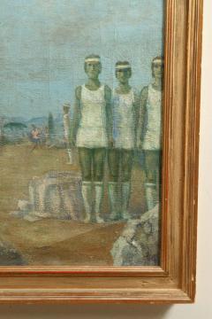 Mikhail Dmitrievich Todorov Large Oil On Canvas by Ukranian Artist Mikhail Dmitrievich Todorov - 2061643
