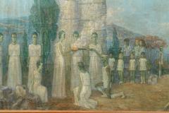 Mikhail Dmitrievich Todorov Large Oil On Canvas by Ukranian Artist Mikhail Dmitrievich Todorov - 2061646