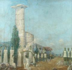 Mikhail Dmitrievich Todorov Large Oil On Canvas by Ukranian Artist Mikhail Dmitrievich Todorov - 2061738