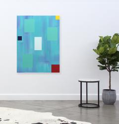 Milly Ristvedt Rising Water Paradise Paintings  - 712006